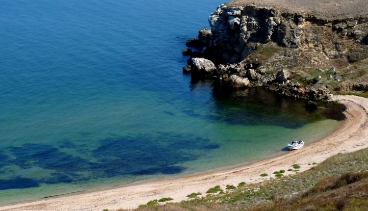 Туристический кемпинг в Крыму